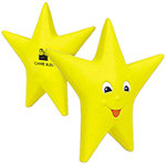 Smiling Star Stress Balls